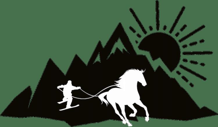 logo cavalnglisse skijoëring